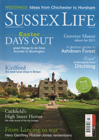 Sussex Life April Issue Cover