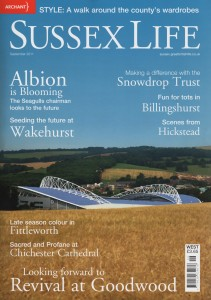 Sarah Young featured in Sussex Life