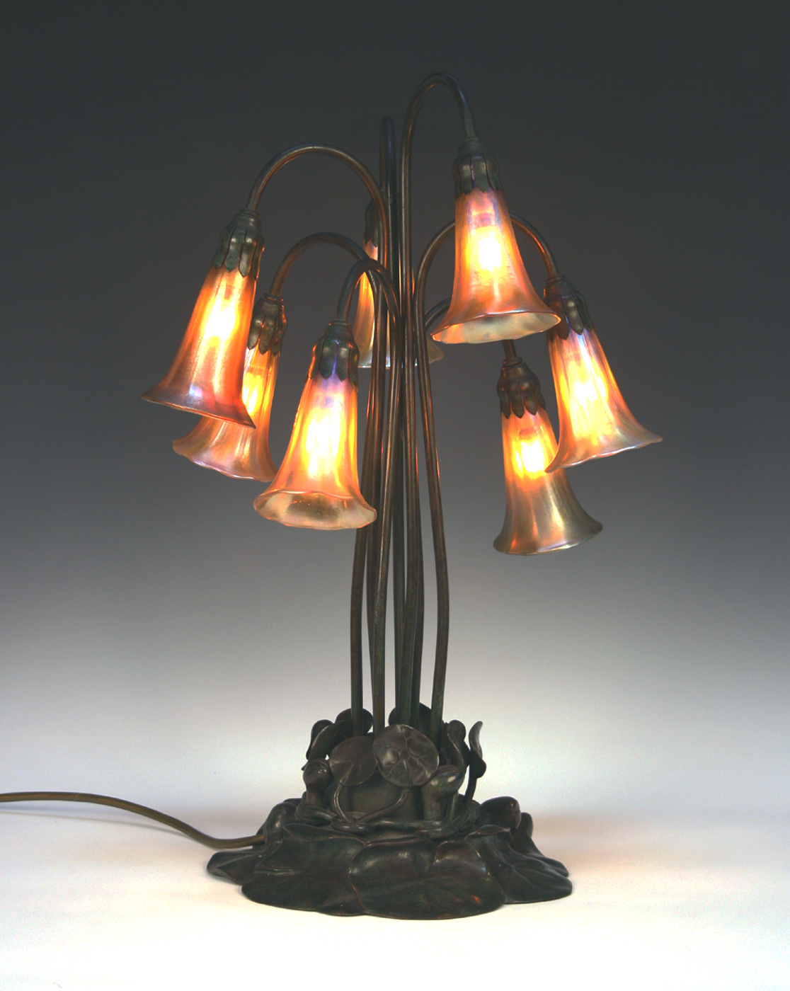 tiffany studios lily table lamp for sale at toovey s toovey s. Black Bedroom Furniture Sets. Home Design Ideas