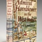 Signed first American edition of 'Admiral Hornblower in the West Indies'