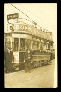 Brighton Corporation Tramways Postcard