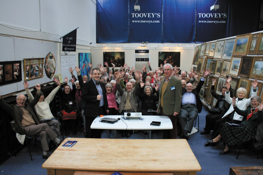 NADFAS Day at Toovey's