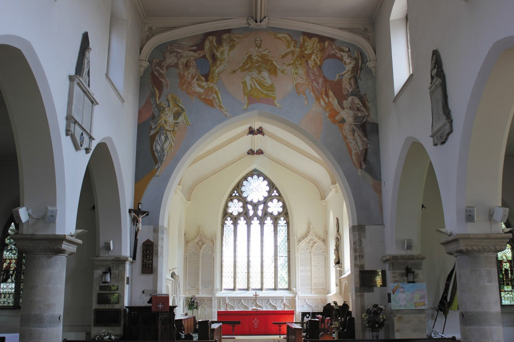 'Christ in Majesty', 1954, St Mary's, Goring-by-Sea