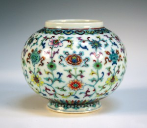 A Chinese doucai porcelain jar