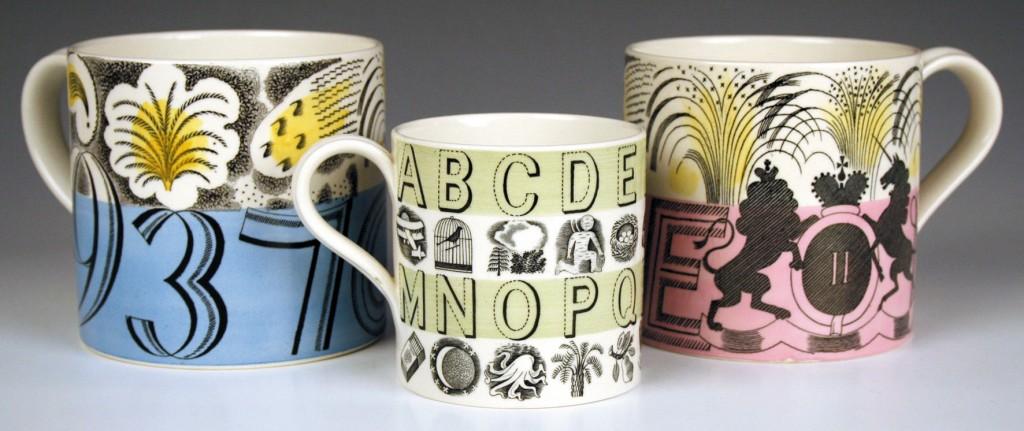 Eric Ravilious Wedgwood Mugs