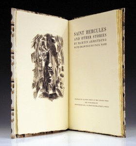 Saint Hercules by Martin Armstrong, Nash illustrated