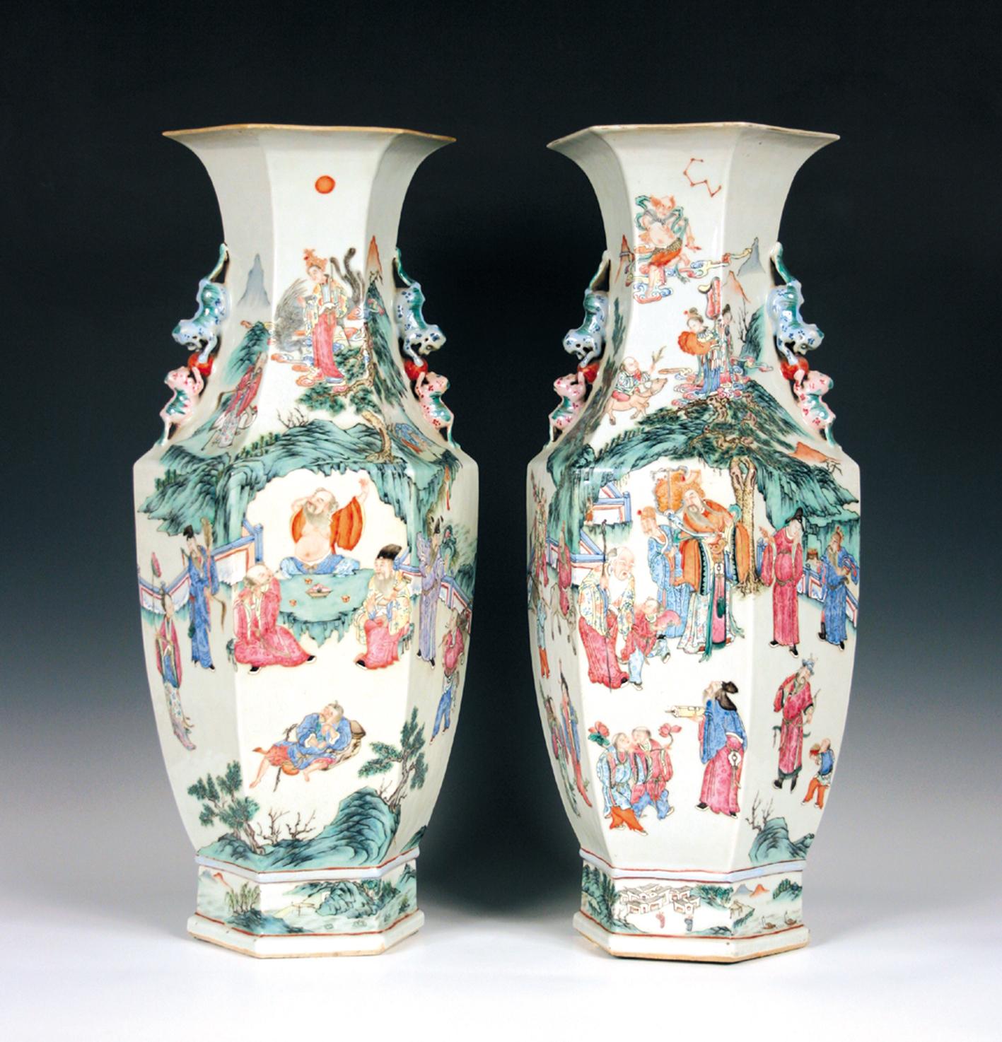 Chinese ceramics tooveys blog chinese famille rose vases reviewsmspy