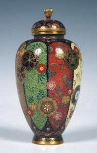 Japanese cloisonné by Namikawa Yasuyuki