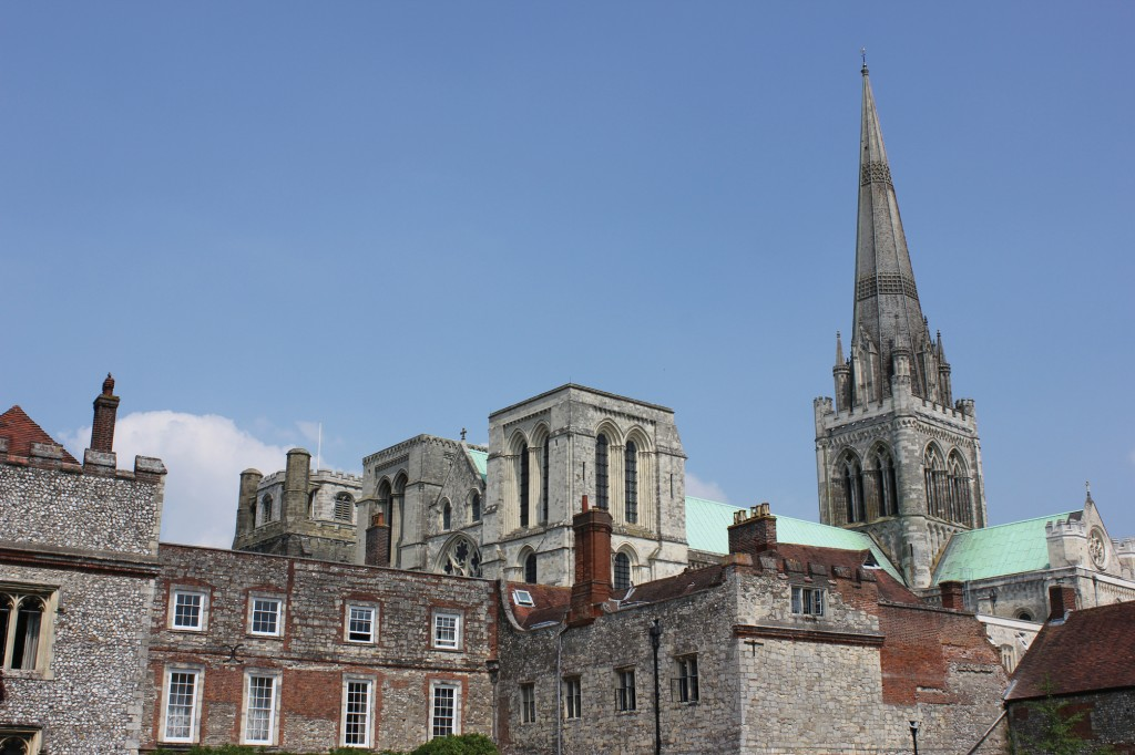 Chichester Cathedral and the Bishop's Palace