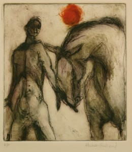 'Bonding', three-plate etching