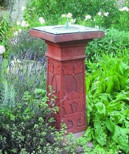 A Compton Pottery sundial