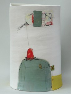 'Kite Flying' open vessel by Kate Wickham blog.tooveys.com
