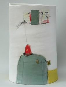 'Kite Flying' open vessel by Kate Wickham blog.tooveys.com