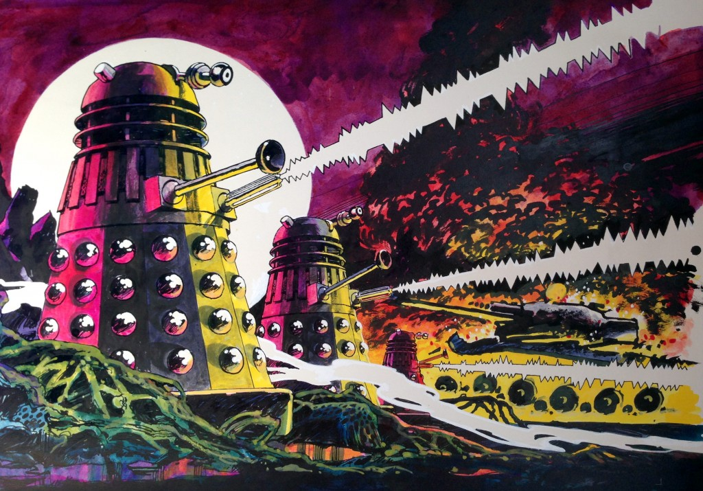 2D Adventures Daleks