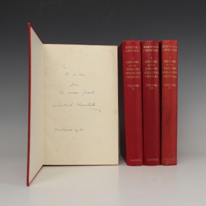 Winston Churchill's presentation copies to Percy Cox