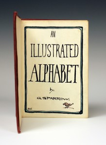 An Illustrated Alphabet by Geoffrey Sparrow