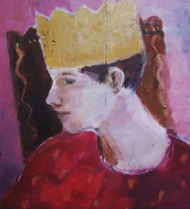 'The Boy King' oil on panel by Andy Waite, via blog.tooveys.com