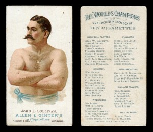 25 (of 50) Allen & Ginter 'The World's Champions' cigarette cards, blog.tooveys.com