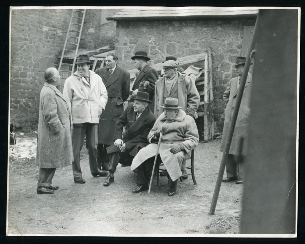 Winston Churchill and Percy Cox at Chartwell
