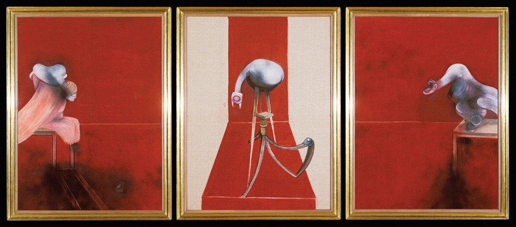 Second Version of Triptych 1944 © The Estate of Francis Bacon