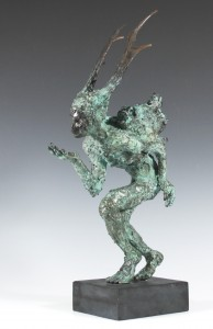 Olivia Ferrier: 'Dryad', bronze, produced in an edition of 9