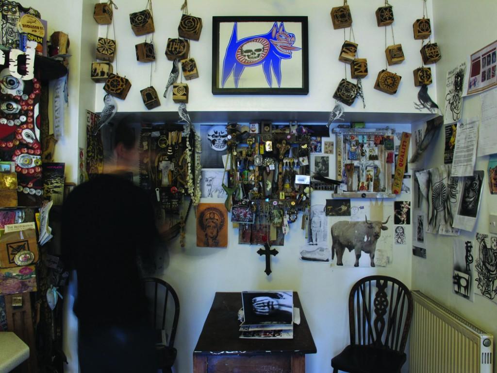 04 Shrines in the artist's kitchen