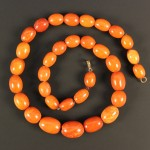 0642 - Amber beads at auction