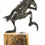 Olivia Ferrier: 'Leap', bronze produced in an edition of 16