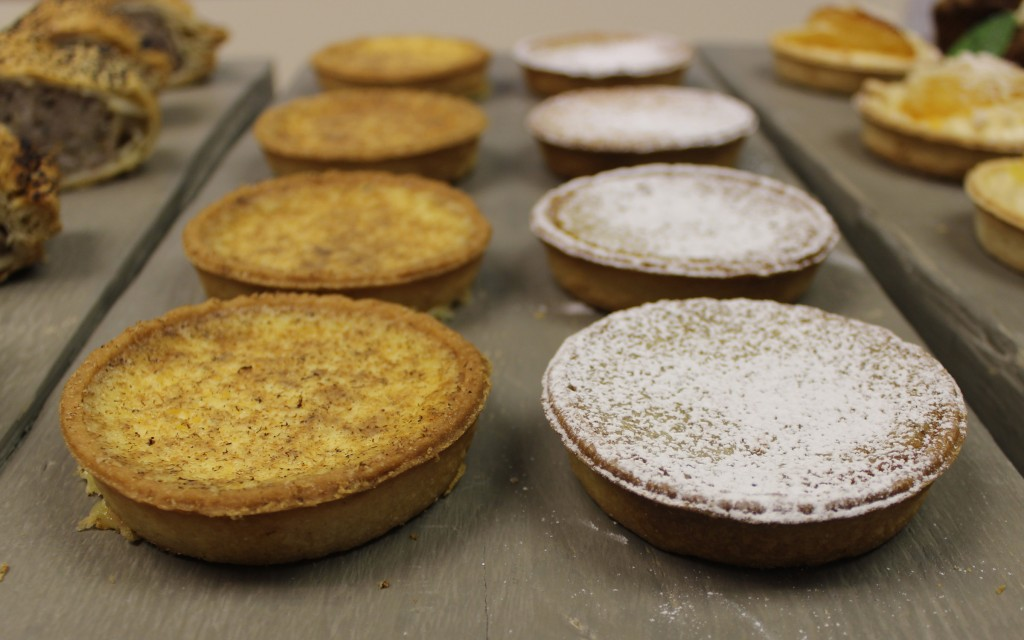 Custard Tarts and Treacle Tarts at Tooveys Cafe