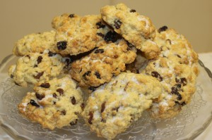 Rock Cakes at Tooveys Cafe