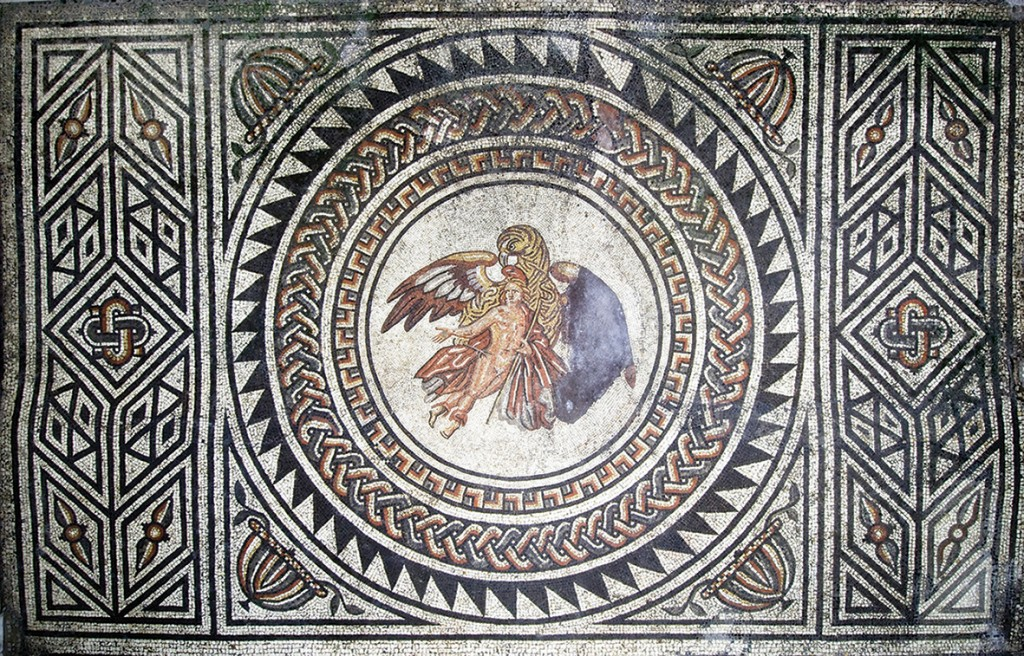 The Ganymede mosaic