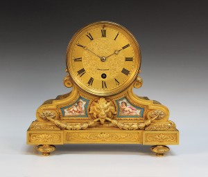 Sevres-style Timepiece by Achille Brocot