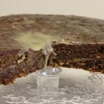 Ginger Parkin Cake at Toovey's Café