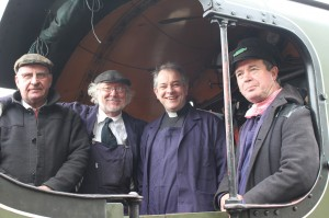 Bruce Steer, David Tandy, Rupert Toovey and Steve Squire