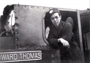Gordon Hatherill on the Talyllyn Railway during the 1950s