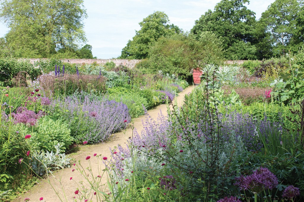 Borders at Parham House and Gardens