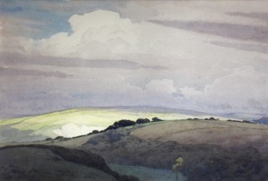 Watercolour by Harry George Theaker
