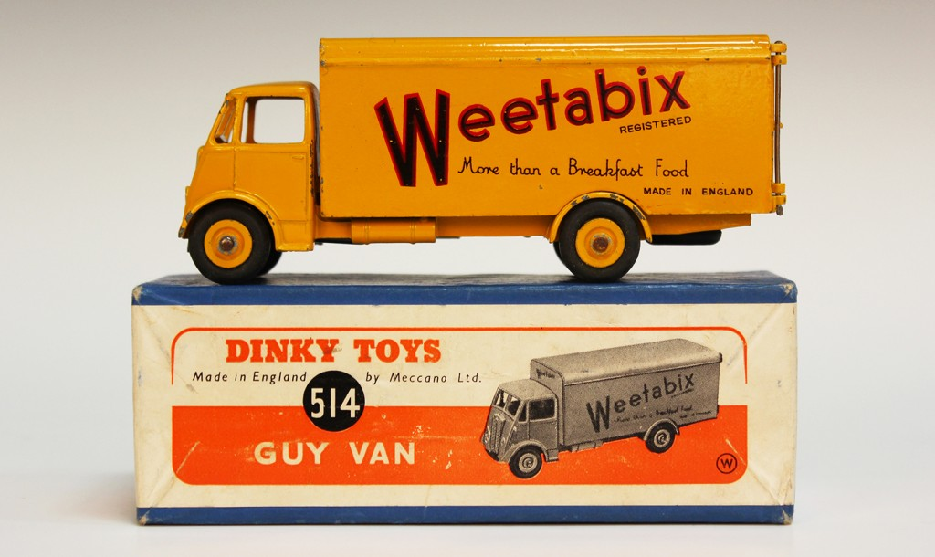 Dinky Toys 'Weetabix' Guy Van No. 514 at Toovey's