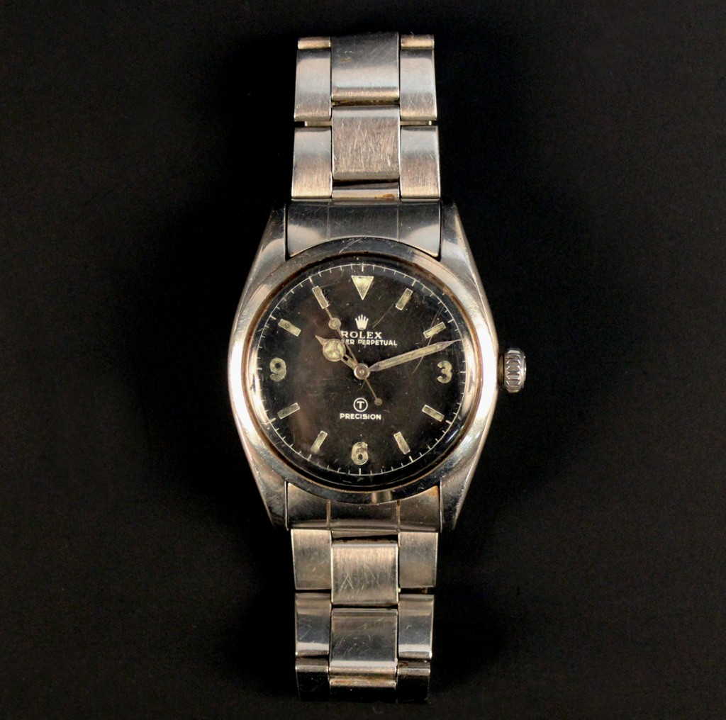 Rolex watch at Toovey's