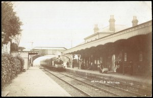 Henfield Station at Toovey's Auction