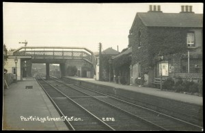 Partridge Green Station at Toovey's