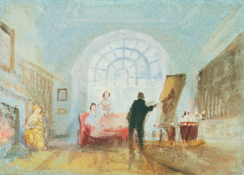 J.M.W. Turner – The Old Library © Tate, London, 2014