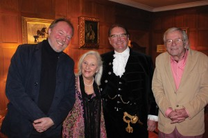 Andrew Bernardi, Clare and John Davison and The Lord High Sheriff of West Sussex, Jonathan Lucas