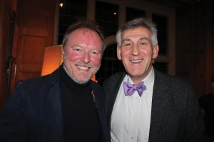 Andrew Bernardi with Professor Malcolm Singer