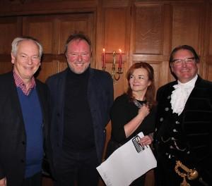 Francis and Christina Maude with Andrew Bernardi and Jonathan Lucas