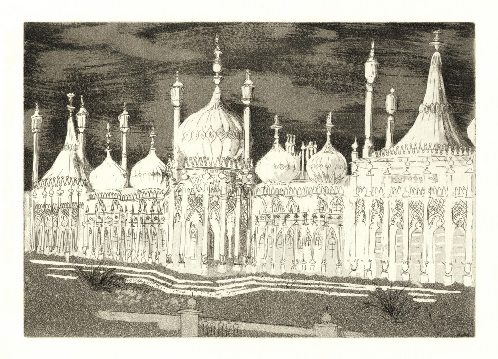 John Piper - 'The Royal Pavilion', plate II, circa 1939
