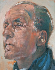 Graham Sutherland – 'Portrait of Walter Hussey', begun 1965, oil on canvas, Pallant House Gallery (Hussey Bequest, Chichester District Council, 1985).