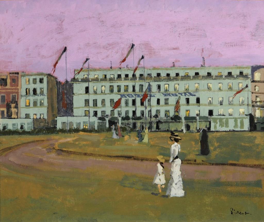 Walter Sickert, 'L'Hôtel Royal, Dieppe', 1894, oil on canvas, Museums Sheffield