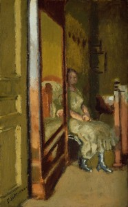 Walter Sickert, 'L' Walter Sickert, L'Armoire à Glace', 1921-4; dated 1924, oil on canvas, Tate: Purchased 1941, Image courtesy Tate, London 2015