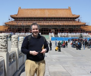 Rupert Toovey in China